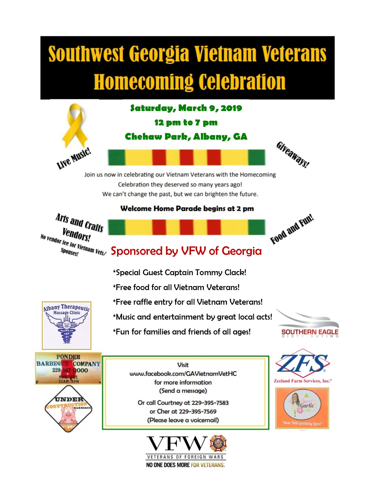 South Georgia Vietnam Veterans Homecoming Celebration