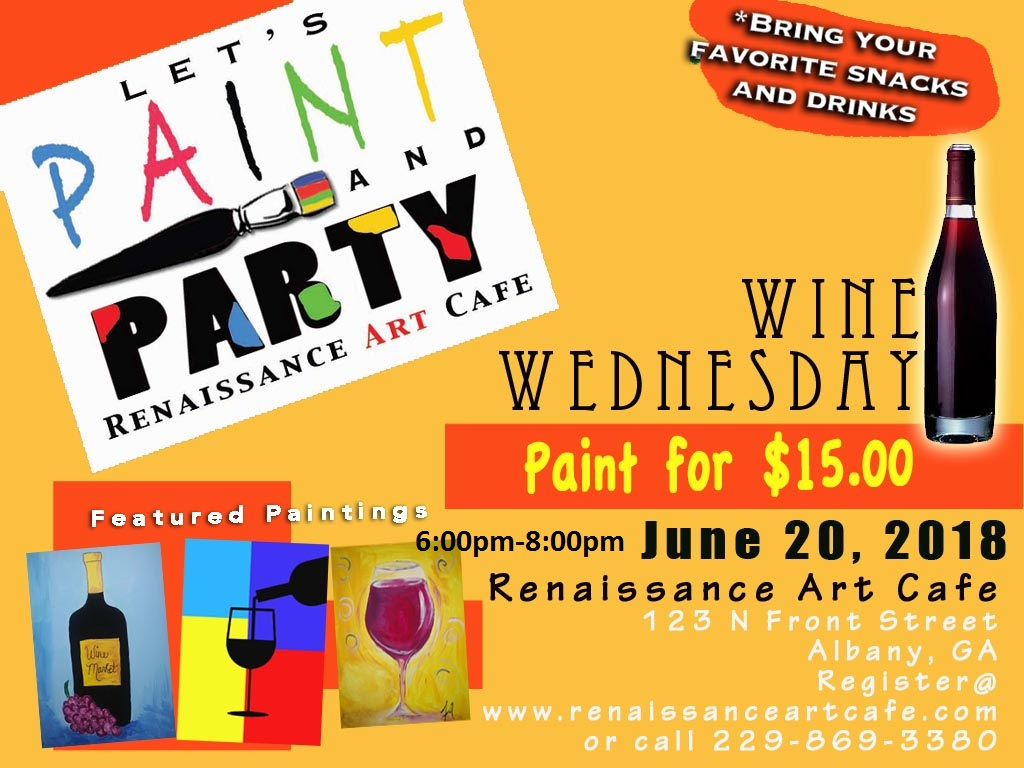 Let's Paint Party: Wine Wednesday