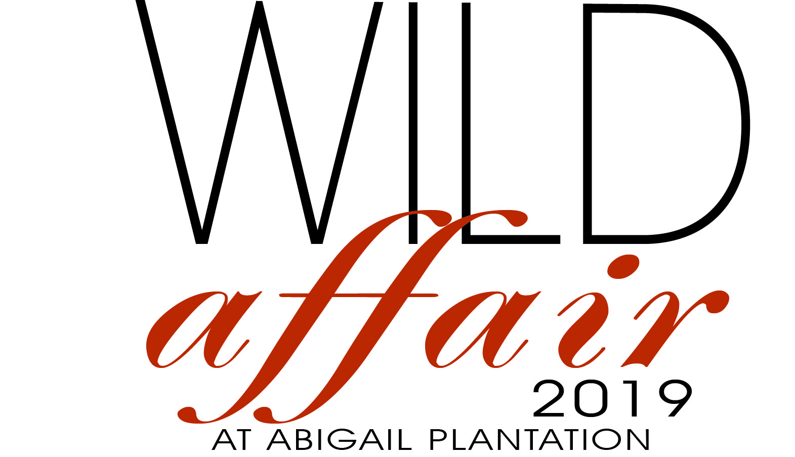 A Wild Affair at Abigail Plantation