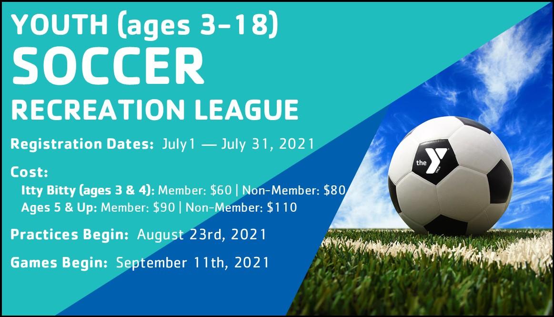 Albany YMCA Soccer Registration