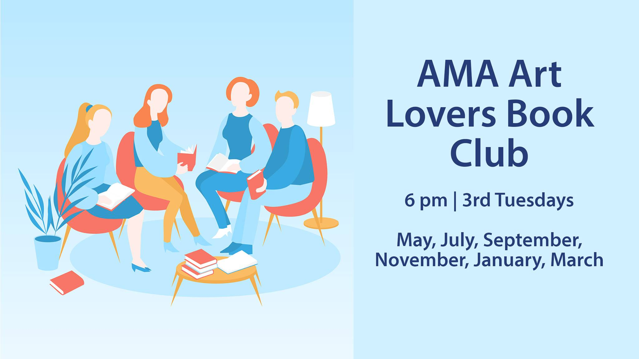 AMA Art Lovers Book Club - Season 2