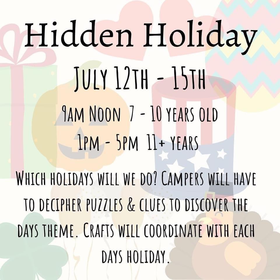 Hidden Holiday