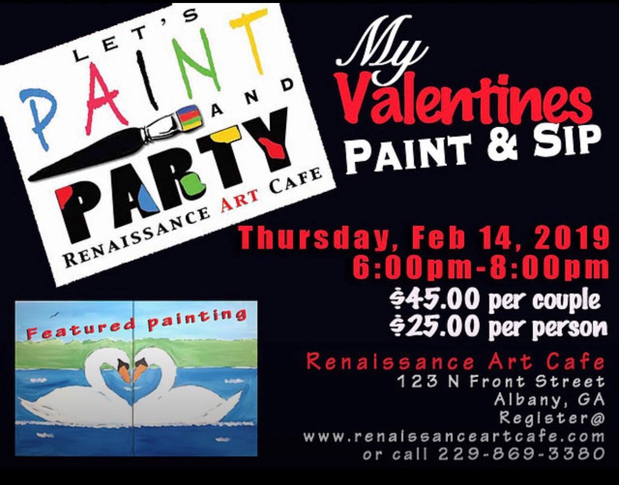 My Valentines Paint & Sip