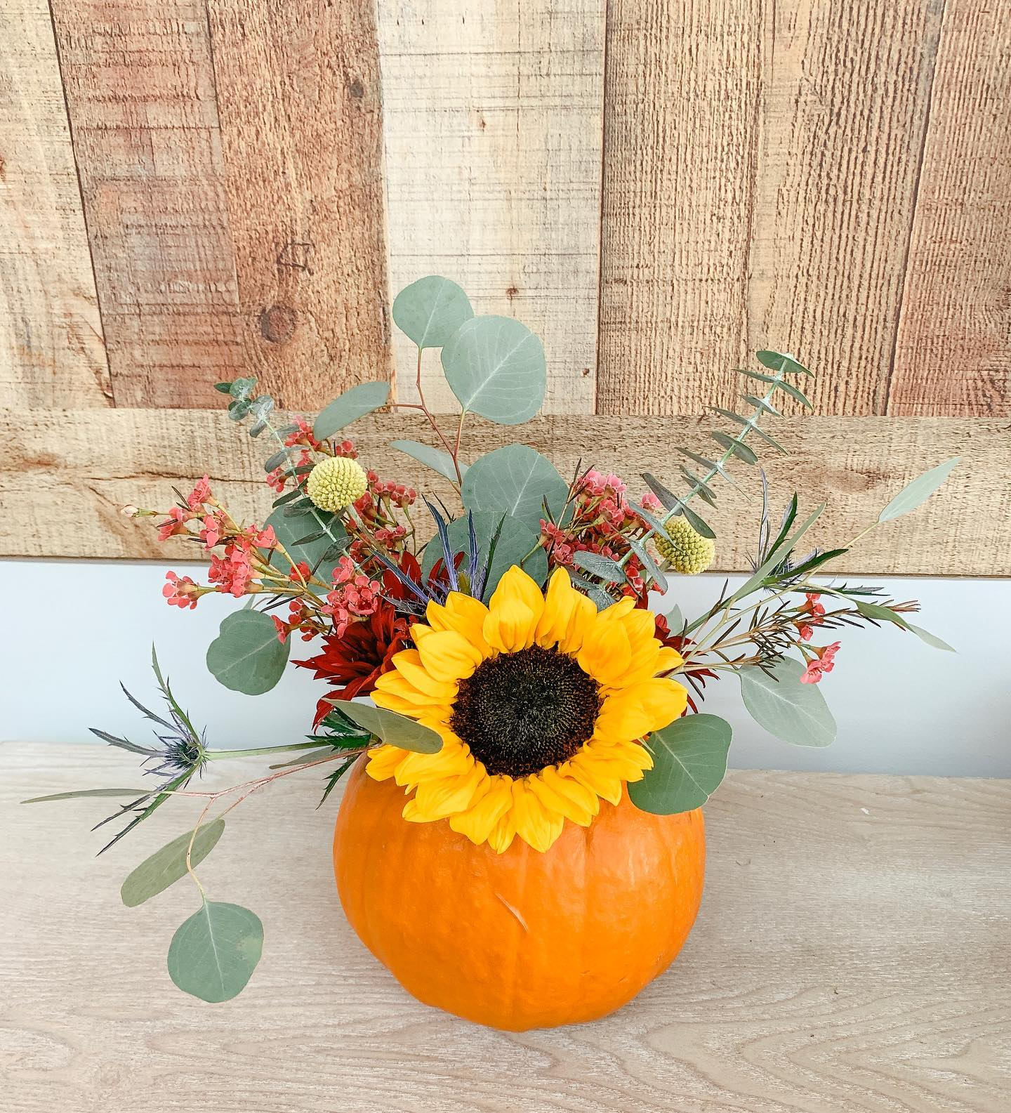 Pumpkin Workshop with Belle's Flower Truck
