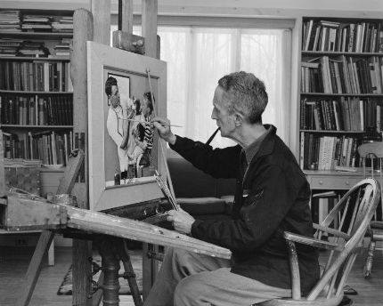 Norman Rockwell: Man Behind the Canvas