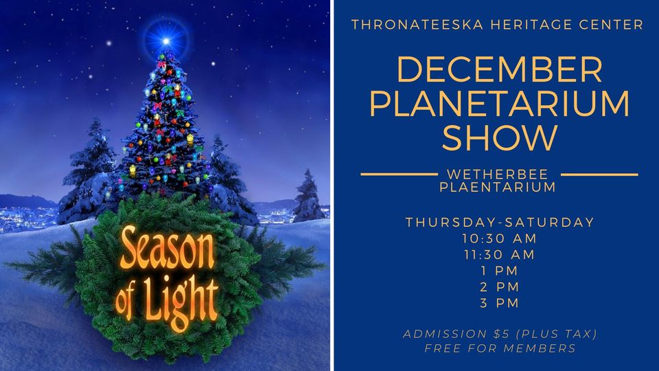 Season of Light Planetarium Show