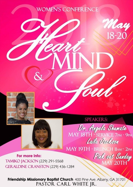 Women's Conference: Heart, Mind and Soul