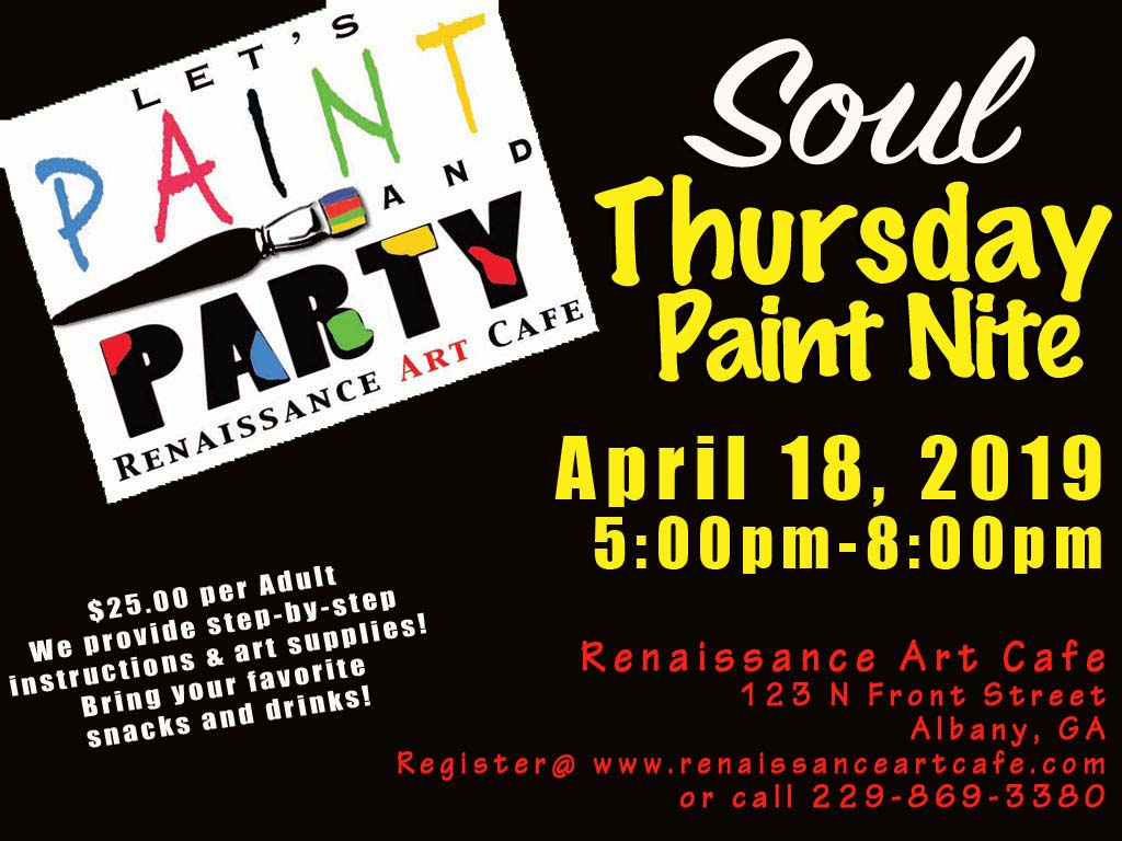 Soul Thursdays Paint Nite