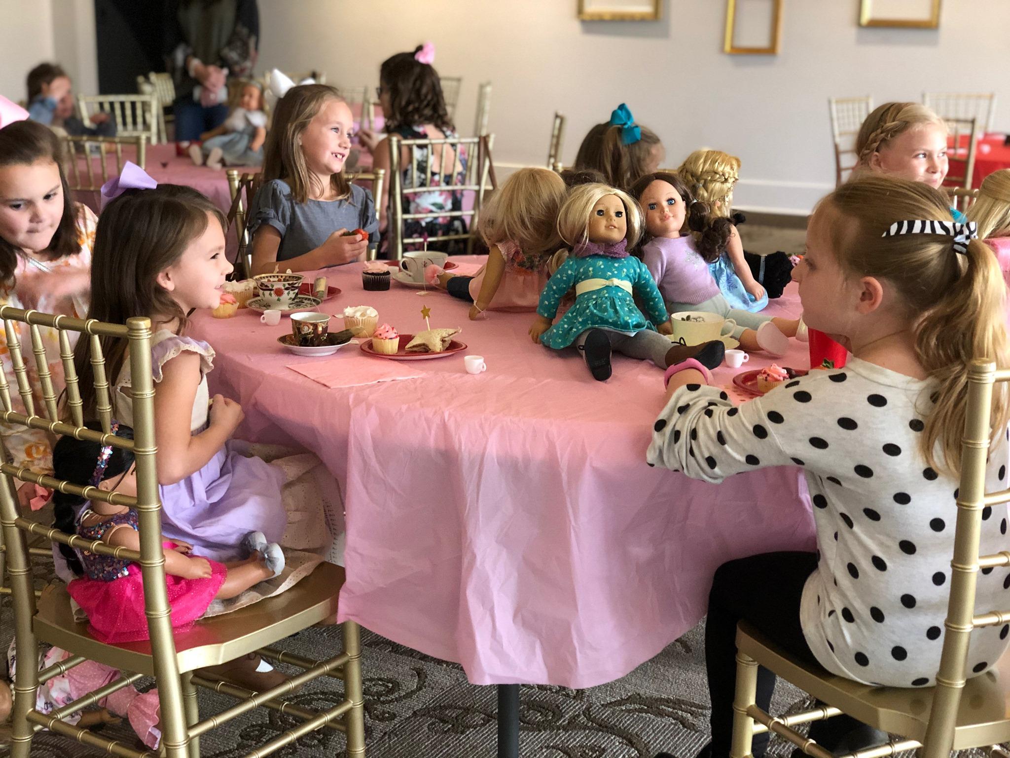 American Girl Spring Tea Party