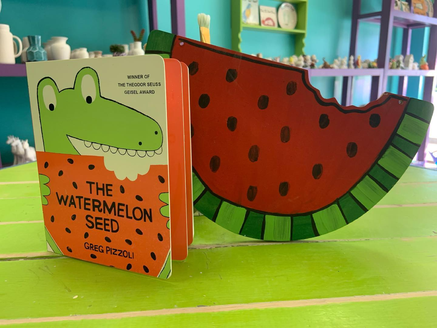 The Watermelon Seed Story Time