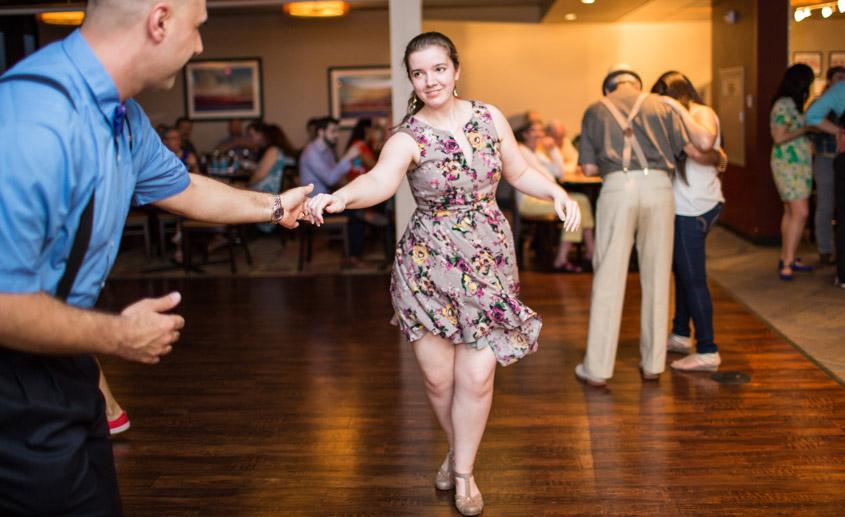 Summertime Swing Ballroom Dance class