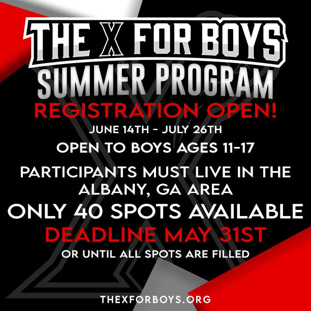 The X For The Boys Summer Program