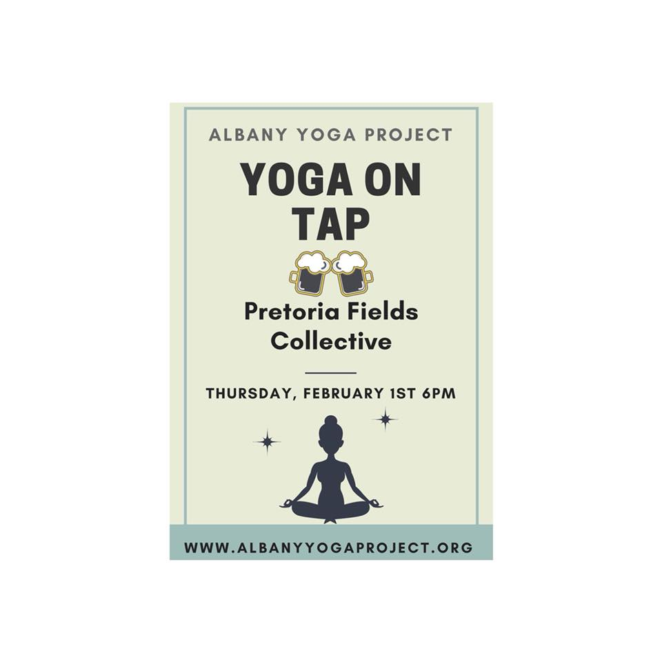 YOGA ON TAP Pretoria Fields Collective